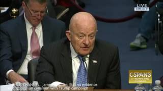 James Clapper: 'Still no EVIDENCE of any Russian Collusion with Trump Campaign'