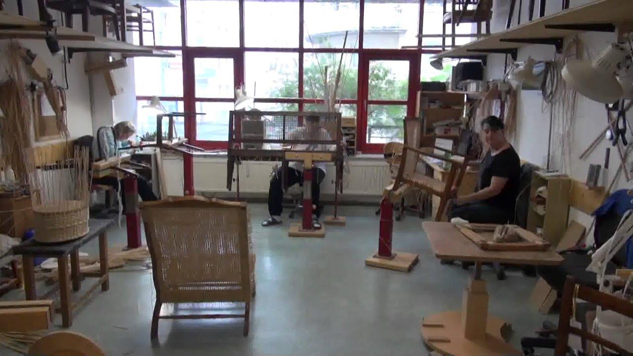Fachwerk Korbflechterei - Thonet- Rattanmöbel - YouTube