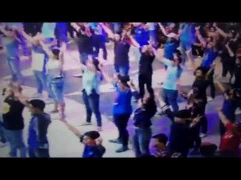 Flashmob pendukung Pa Ahok di Citos, 29 January 2017