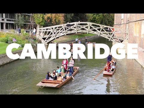 A day trip to Cambridge