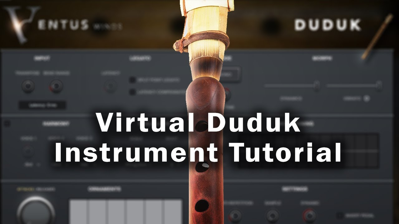Impact Soundworks - Ventus Winds Duduk (Kontakt Player VST