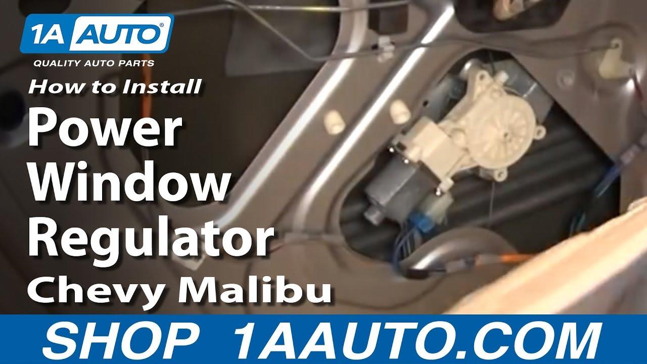 1964 chevy impala wiring diagram 3 way light how to install replace rear power window regulator malibu 04-08 1aauto.com - youtube