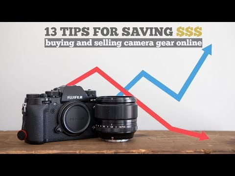 13 Tips on How Save Money Buying & Selling Used Camera Gear Online Mp3