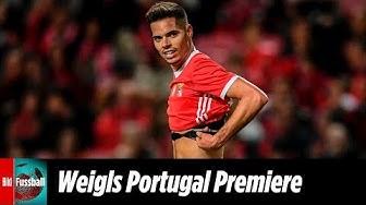 Ex-BVB-Star Julian Weigl feiert Lissabon-Debüt | Benfica - Desportivo Aves 2:1 | Highlights | NOS