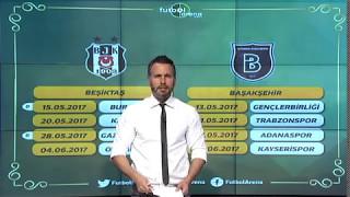 Beşiktaş ve Başakşehir'in kalan maçları