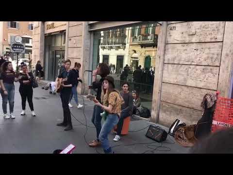 MANESKIN LIVE A ROMA CENTRO