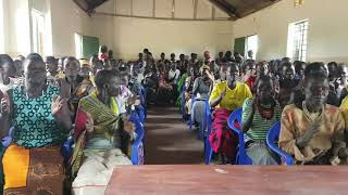 Women beneficiaries of the Literacy programme (Kangole, Karamoja, Uganda)
