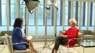 IMF's Christine Lagarde discusses the state of the global economy