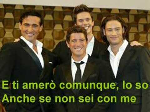 Ti amero il divo youtube - Il divo italian songs ...