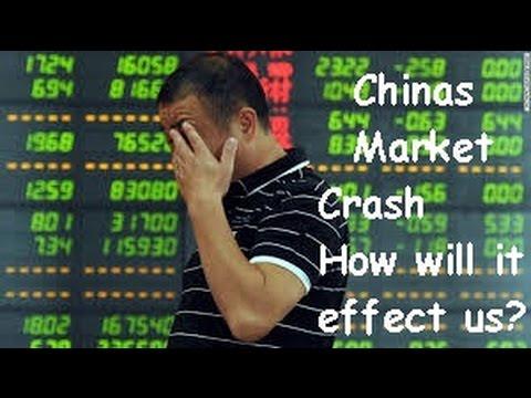 China market Crash, Dow jones loses 300+ points .