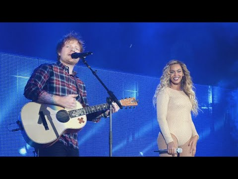 Beyonce and Ed Sheeran Drop Gorgeous...