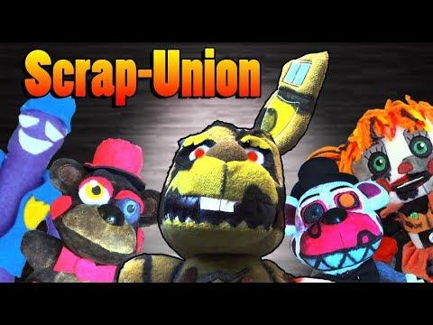FNAF 6 Plush - Scrap-Union