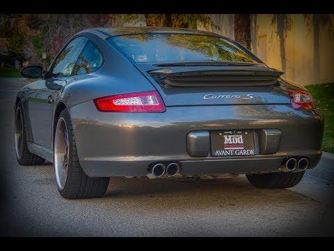 2009 Porsche 997 Carrera S With Fabspeed Exhaust & Maxflow Intake