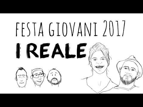I REALE ospiti alla Festa Giovani 2017 a Firenze