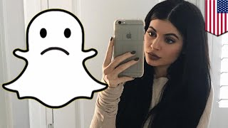 Snapchat stock crash: Kylie Jenner tweet wiped $1.3 billion from Snap's market value - TomoNews