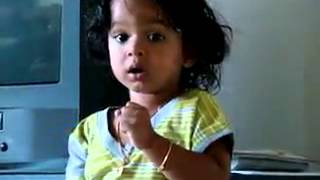 little baby sung Jana gan man...Indian national anthem