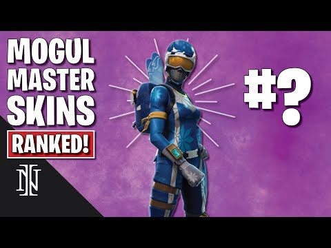 RANKING ALL MOGUL MASTER SKINS In Fortnite