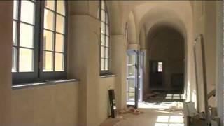 Hostinné - Rekonstrukce kláštera, srpen 2011