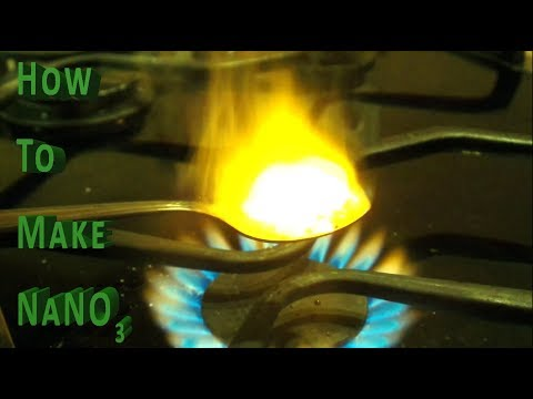 How to make Sodium nitrate from Calcium Nitrate