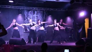 Anastasia Minashkina and her students at Samhain dance evening