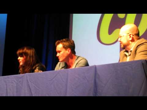Eve Myles and Gareth DavidLloyd Torchwood Q&A at Wales Comic Con 2014