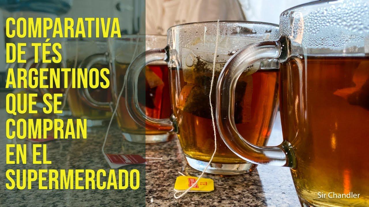 ☕️ Tés argentinos que se compran en el supermercado 🇦🇷 - comparativa