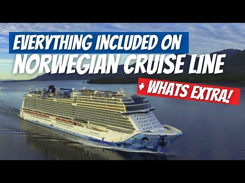 What's Included On Norwegian Cruise Line Cruise In 2020