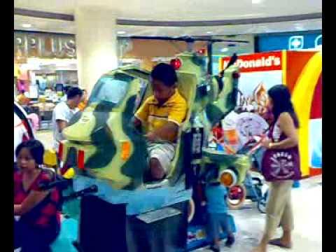 Bdowe D pilot in SM Manila