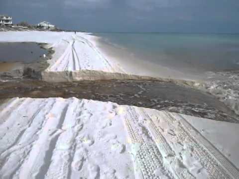 Eastern Lake Outfall, February 27, 2014