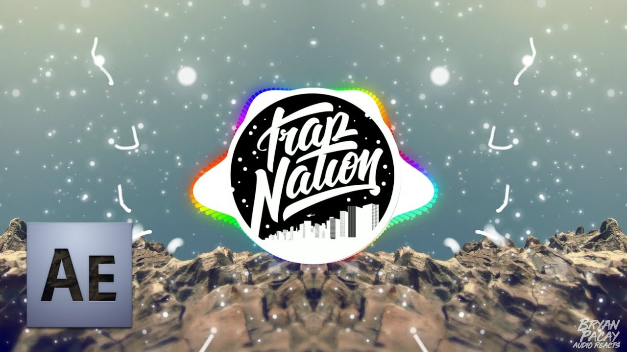free particles trap nation 2018 ae cs4 project audio visualizer