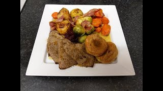 Roast Beef Cooked In An Air Fryer