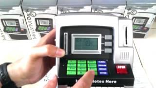 Cara Pakai Mainan ATM Mini Bank Silver - Part 1