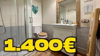 BAÑO NUEVO por 1400 euros l REFORMA l estelamaca