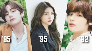 Big Hit Labels' Artists From Oldest to Youngest
