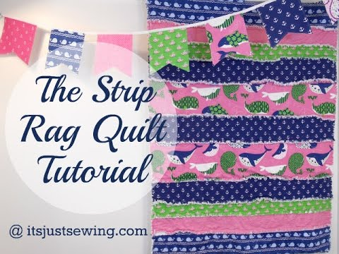 strip quilting Raggy