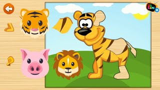 Free Animals Puzzle Game for Kids - Funny Animals Jigsaw Educational ...