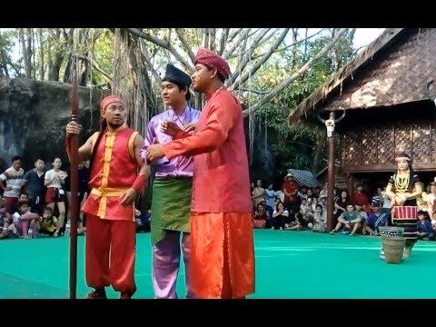 Cambodian Travel | Cultural Village | Khmer ethnic minority Dance at Siem Reap Angkor #2