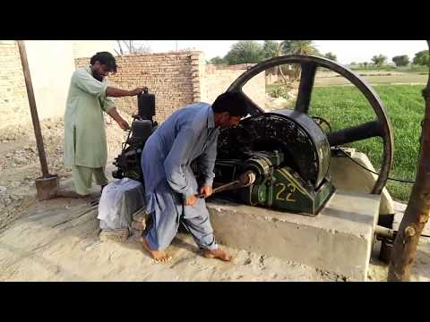 Starting The Old Diesel Engine Amazing Technology Working Chaki Ata|Ruston Hornsby| Pak|India| from YouTube · Duration:  2 minutes 34 seconds