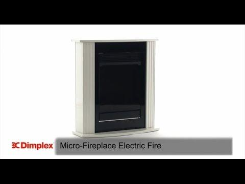 Электрический камин Dimplex Mini черный
