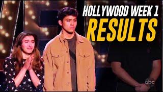 American Idol Hollywood Week 1 RESULTS! Did Your Favorite Make It Through?