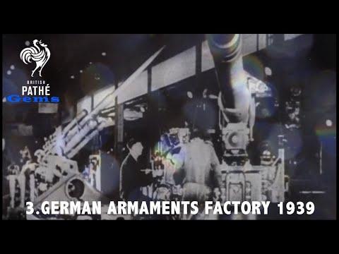 British Pathé Gems Nº3 - German Armaments Factory (c.1939)