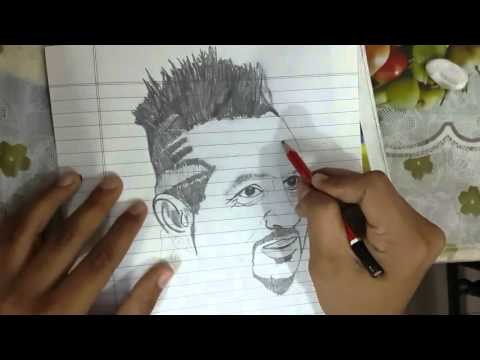 Speed Drawing of jazzyB by Manpreet