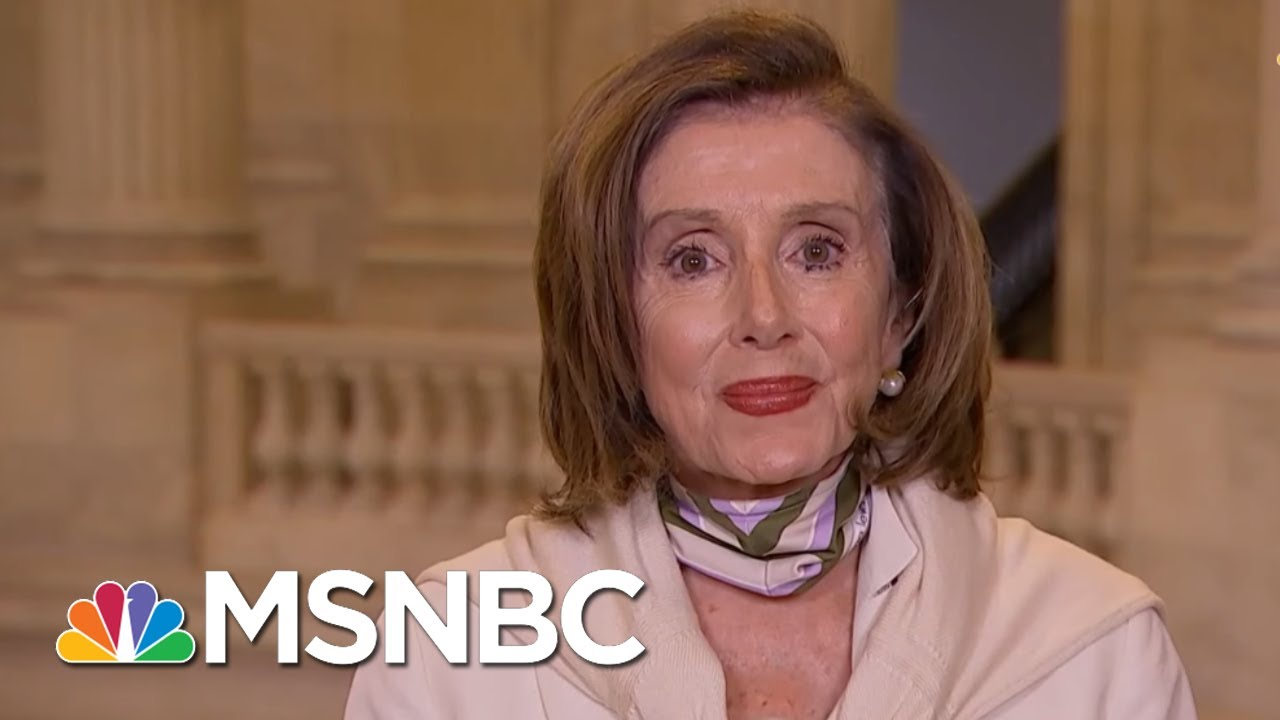 Speaker Nancy Pelosi On Three 'Pillars' Of Next COVID-19 Rescue Bill | All In | MSNBC