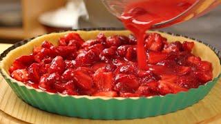 Клубничный пирог — простой и быстрый рецепт вкусной клубничной выпечки от webspoon.ru