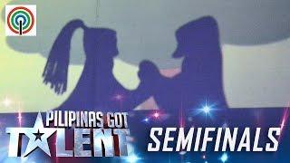 Pilipinas Got Talent Season 5 Live Semifinals: Philip Galit - Shadow Performer