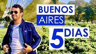 Meu Roteiro PRÁTICO de 5 Dias em BUENOS AIRES - Argentina