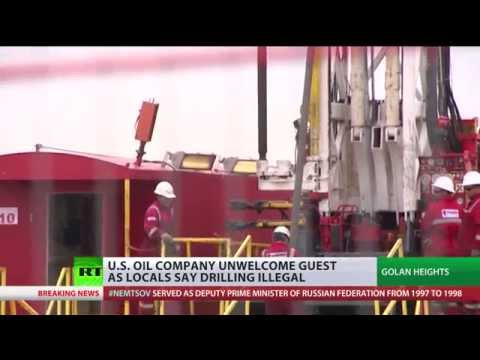 US-Israeli Oil Drilling Begins In Golan Heights, Locals Protest