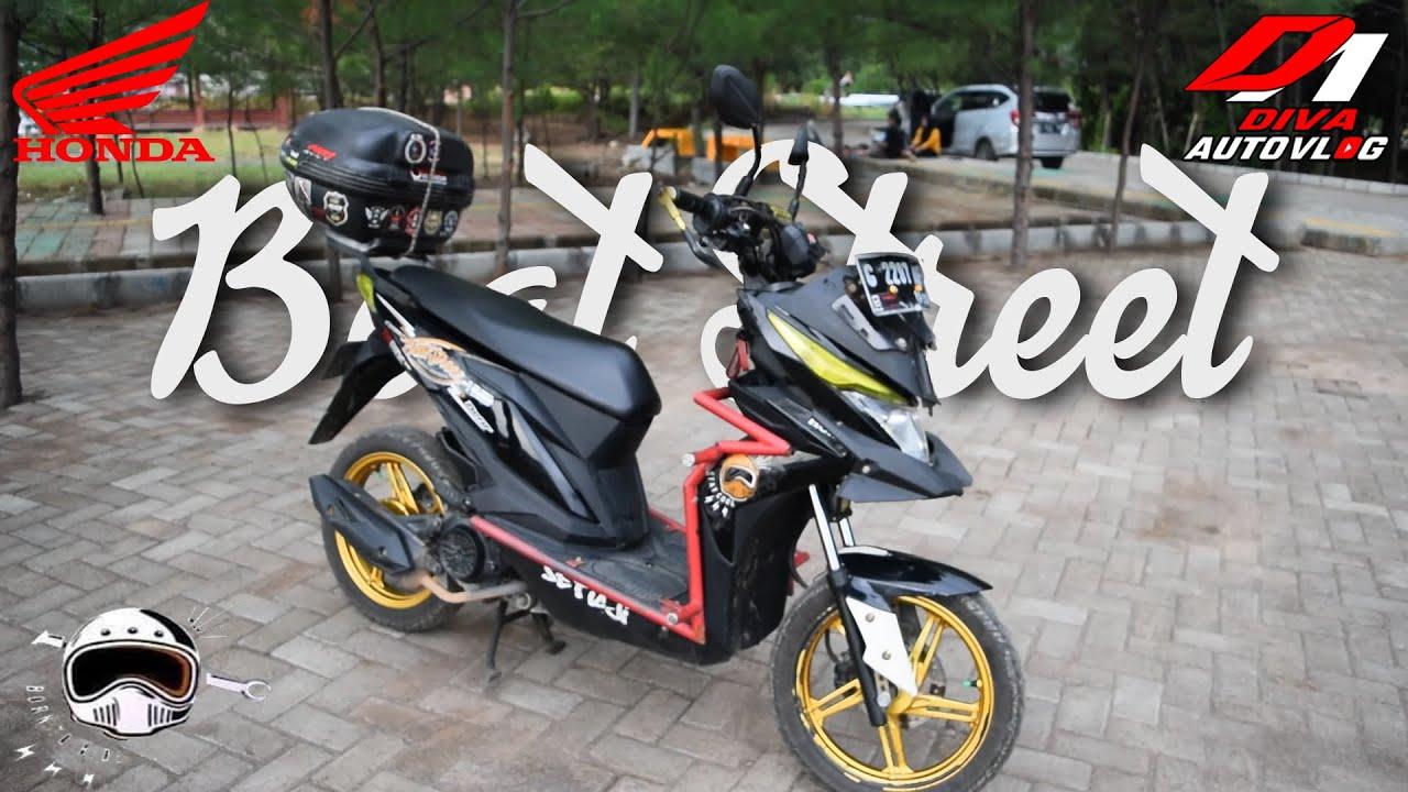 Review Honda Beat Street Modifikasi Touring Supermoto Minimalis Youtube