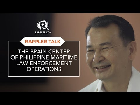 #RapplerTalk  The brain center of Philippine maritime law enforcement operations