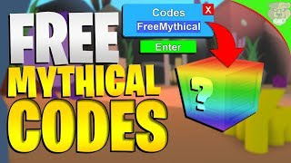 ROBLOX MINING SIMULATOR: 8 MYTHICAL CODES! *EPIC ITEMS*